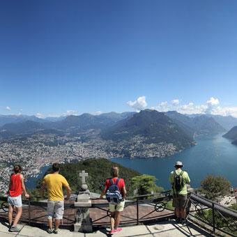 Panorama Monte San Salvatore